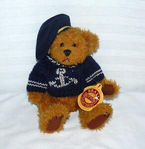 1997 Brass Button Collectables Bear Of Health Tango Navy Sailor Tan Cub W Tag