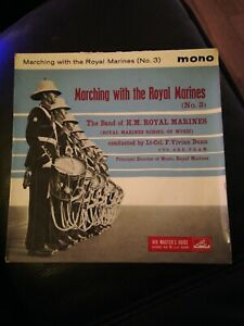 """Marching With The Royal Marines (No.3) - 7"""" Vinyl EP Record"""