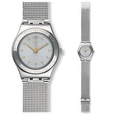 SWATCH quiteness Reloj yls187m Análogo Acero Inoxidable Plata