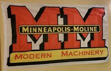 Minneapolis - Moline Modern Machinery 3 x 5 Flag #177