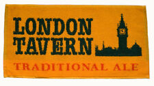 LONDON TAVERN TRADITIONAL ALE Pub Beer BAR TOWEL