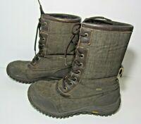 Ugg Event Vibram Waterproof Womens Boots Size 9 Brown