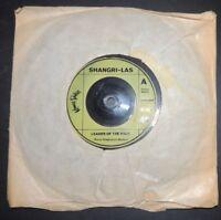 Shangri-Las Leader of the pack vinyl single
