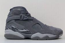 Men's Nike Air Jordan 8 VIII Retro Cool Grey Wolf Suede 305381-014 Size 9