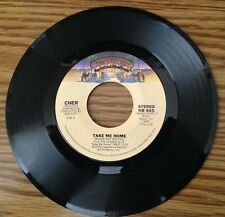 "Cher - Take Me Home + My Song (Too Far Gone) - 1979 Disco 7"" 45 RPM Single!"