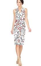 29cc967c27 Alice + Olivia Jacki Embroidered V-Neck Dress Size 8 NWOT