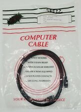 IEEE1394 iLINK 6FT FIREWIRE CABLE 4 PIN to 4 PIN 6FT PC MAC DV MALE TO MALE
