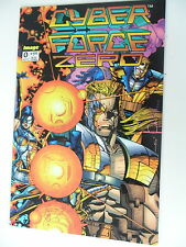 1 x Comic  Cyber Force Zero - Nr. 0 September - englisch - image -Z.1