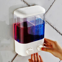 Wall Mounted Soap Shampoo Dispenser 500/1000ml Shower Pump for Bathroom Hotel US