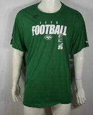 Nike Nfl Men's T-Shirt 3Xl New York Jets Dri-Fit Green Nwt