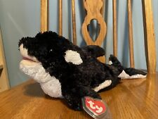 Ty Classic Jonah The Killer Whale Very Soft Retired Mint With Mint Tags