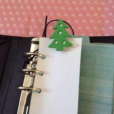 Filofax Today Page Marker Fits All Filofax LIMITED EDIITION Christmas Tree