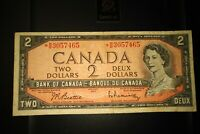 1954 Replacement $2 Dollar Bank of Canada Banknote *BB3057465