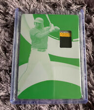 Josh Bell 2020 Panini Immaculate #1/1 Patch Printing Plate Pittsburgh Pirates
