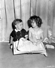 8x10 Print Shirley Temple Baby LeRoy Now and Forever 1934 #ST884