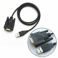 USB 2.0 to Serial RS-232 DB9 9 Pin Adapter Cable FTDI Chipset For Win 10 8 7