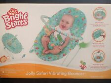 BRIGHT STARS JOLLY SAFARI VIBRATING BOUNCER ~ NEW in BOX ~ PICK UP MELB or POST
