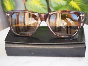 Sunglasses / Lunettes de soleil Persol RATTI PP502 Marron tortoise vintage