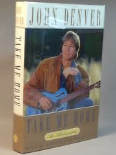 SIGNED - John Denver - Take Me Home - 1st Edition - With event materials