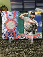 2018 Topps Walmart Holiday Mega Baseball Stephen Strasburg Game Used Relic SP!!!