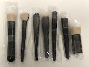 7pc Bareminerals Makeup Brush Set Set of 7 Face Brushes NEW SEALED