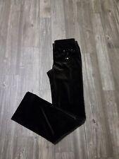PER SE Brown Dress Pants Velvet Feel Ribbon Carlisle Etcetera Co. (SIZE 6 US)