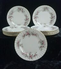 "LAVENDER ROSE Royal Albert SALAD PLATE (s) 8 1/4"" Bone China England 13 Avbl"