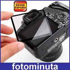Protector de Pantalla de Cristal Rígido Camara Nikon D3100 LCD Profesional Glass