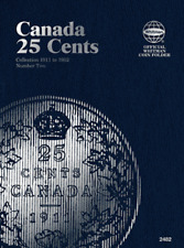 Whitman Canadian 25 Cent Coin Folder 1911-1952 Volume 2 #2482