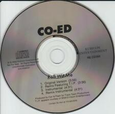 Co-Ed: Roll Wit Me PROMO MUSIC AUDIO CD Remix Featuring T.I.P. Instrumental 4trk