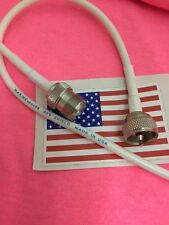 VHF Marine Radio 3 ft Coaxial Antenna Cable Extension for Boats MADE IN US