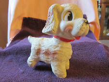 VINTAGE TOY DOG...1958...EDWARD MOBLEY CO...ARROW RUBBER CORP...IT SQUEAKS!!!