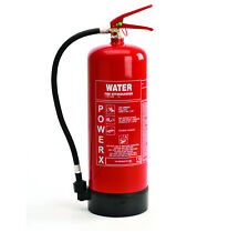 New Premium 9 Litre (9L/9Ltr) Water Fire Extinguisher - For Class A Fires