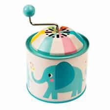 "Spieluhr Elvis the Elephant ""Old MacDonald"" Spieldose Vintage Retro Elefant"