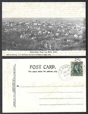 Old Iowa Postcard - Le Mars - Bird's Eye View