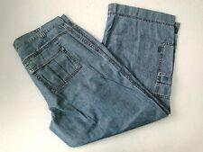 Mac CELINE car Chino pantalon décontracté bleu stonewashed taille 40