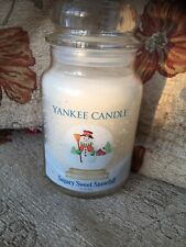 Yankee Candle Sugary Sweet Snowfall Limited Edition