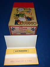 Club Cabaret Cigarette Rolling Papers 1 full box 24 packs vintage rare modiano