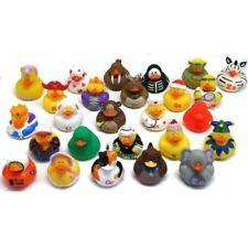 Abc's Rubber Duckies Set of 26 Ducks Developmental Baby Learning Aid Bath Toys