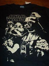 STAR WARS THE EMPIRE STRIKES BACK T-Shirt XL YODA LUKE SKYWALKER DARTH VADER