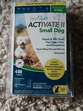 TevraPet Activate ll Small Dog 4 ct. Flea and Tick Topical 4 - 10 lbs.