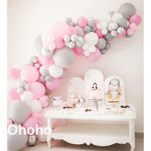 79 pcs Balloons Party Decoration for Girl Women with Pink Birthday Decorations