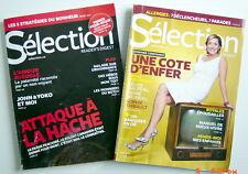 2 REVUES SÉLECTION DU READER'S DIGEST DE MAI ET JUIN 2011