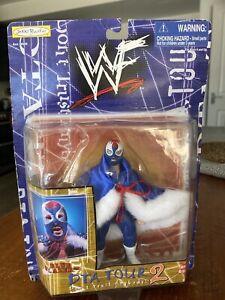 WWE WWF Owen Hart Blue Blazer Wrestling Figure Very Rare