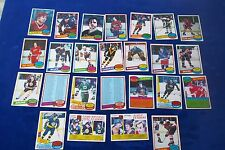 25-1980-81 TOPPS WITH WAYNE GRETZKY LEADER CARD