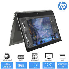 "HP Pavilion x360 Convertible Laptop 15-dq0007na 15.6"" Core i3-8145U 8GB, 1TB HDD"