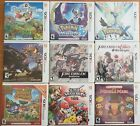 Nintendo 3DS Games Pick Your Own or Bundle and Save (RPG, Action, Puzzle, etc.)