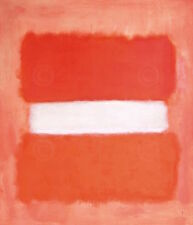 White Center 1957 Mark Rothko Abstract Contemporary Print Poster 26x32