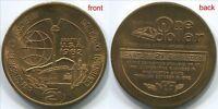 T644 Seattle Washington 1962 World Fair Century 21 Exhibition 1 Dollar, token