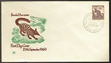 1961 Australia Native Banded Anteater Unused and Unsealed Royal Fdc
